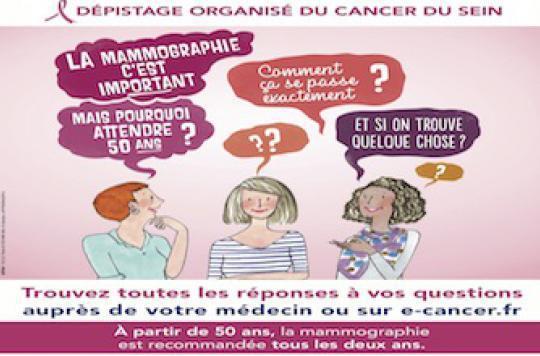 Dépistage du cancer du sein : les femmes ont besoin d'être rassurées