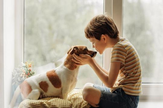 Comportement : les chiens seraient bons pour le développement des enfants