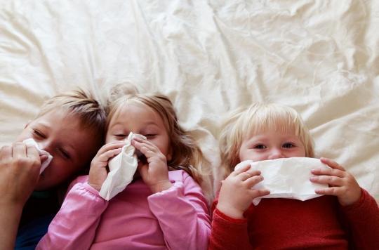 Rhumes, bronchites… les coronavirus saisonniers n'immunisent pas les enfants de la Covid-19