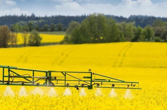 Des pesticides interdits présents dans l'air