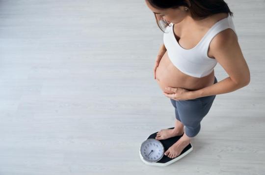 Où se situe l'excès de prise de poids lors d'une grossesse?