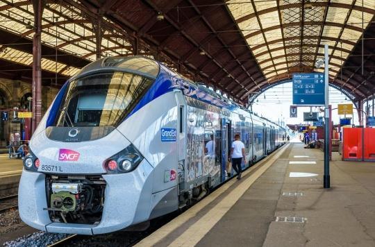 Dans les TGV encore en circulation, inquiétude et prudence