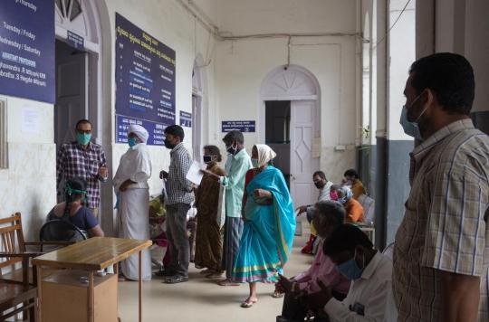 Covid en Inde : le mystère du \
