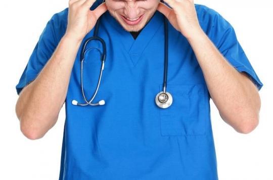 En France, les soignants sont en très mauvaise santé
