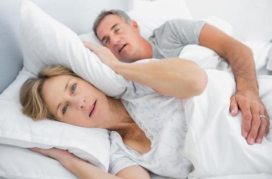 Pourquoi perdre du poids? Pour arrêter de ronfler et ramener le calme dans le couple!