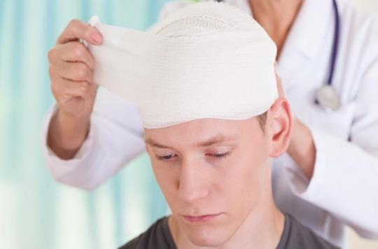 Des troubles mentaux peuvent survenir après un traumatisme crânien léger