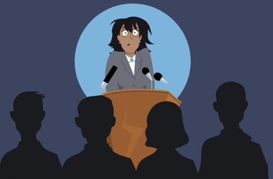 Comment le stress fait dérailler la voix des anxieux lors d'une prise de parole en public