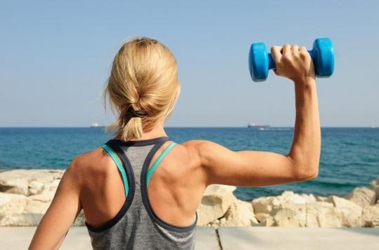 Soulever des poids moins d'une heure par semaine réduit le risque de crise cardiaque et d'AVC