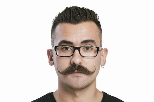 La moustache est bénéfique  pour la santé !