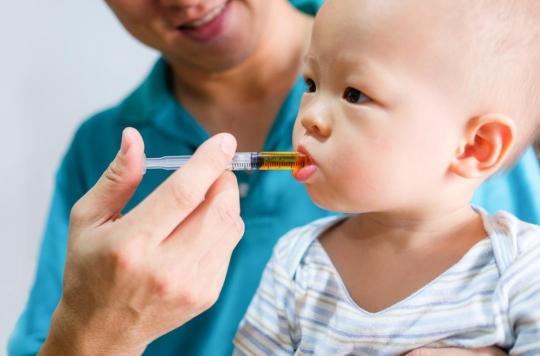 Rappel d'un lot de Doliprane pour enfants à cause d'un risque de surdosage