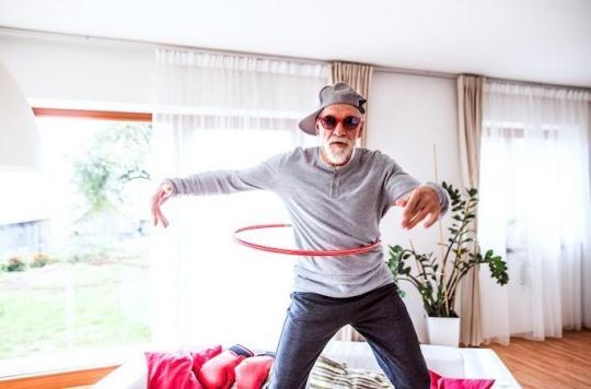 Chez les personnes âgées, l'activité physique diminue la mortalité