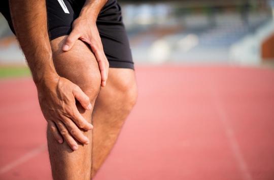 Déchirure du ligament: les athlètes ont un risque de récidive plus élevé