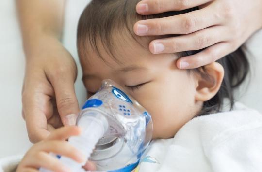 Bronchiolite : plus de 5000 enfants conduits aux urgences en une semaine