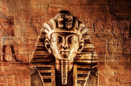 Archéologie : la malédiction du pharaon expliquée par les microbes