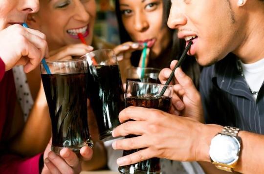 Boissons sucrées : les adultes ont du mal à réduire leurs apports