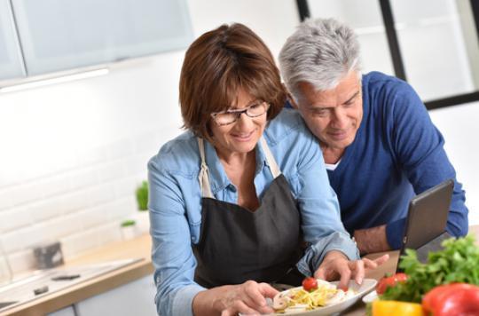 Le mariage à 60 ans : juste pour le plaisir