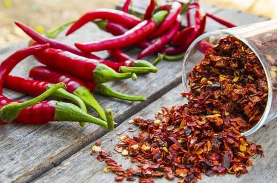 Cancer du poumon : manger des piments rouges peut ralentir le développement de la maladie