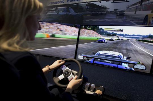 Jeux vidéo : femmes au volant, kilos au tournant