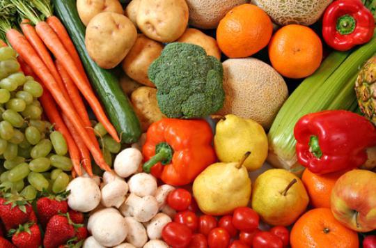 Fruits et légumes : les Français préconisent plutôt cinq par jour