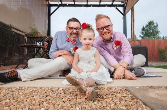 Parents homosexuels : pas d'influence sur le comportement des enfants