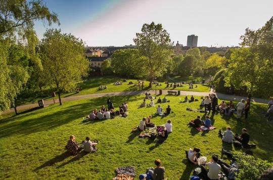Une « petite dose de nature » diminue le stress des urbains