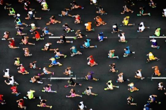 S'entraîner pour un marathon rajeunirait les artères des sportifs débutants
