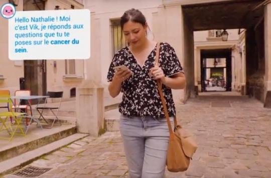 Octobre Rose : VIK, un compagnon virtuel pour les malades du cancer
